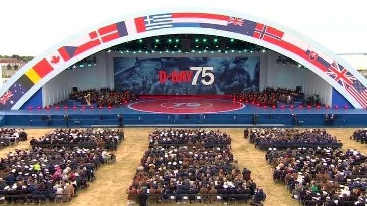 В Англии и Франции торжественно отмечают 75-летию высадки в Нормандии