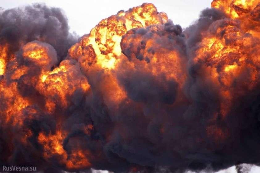 Взрыв в международном аэропорту Розуэлл США