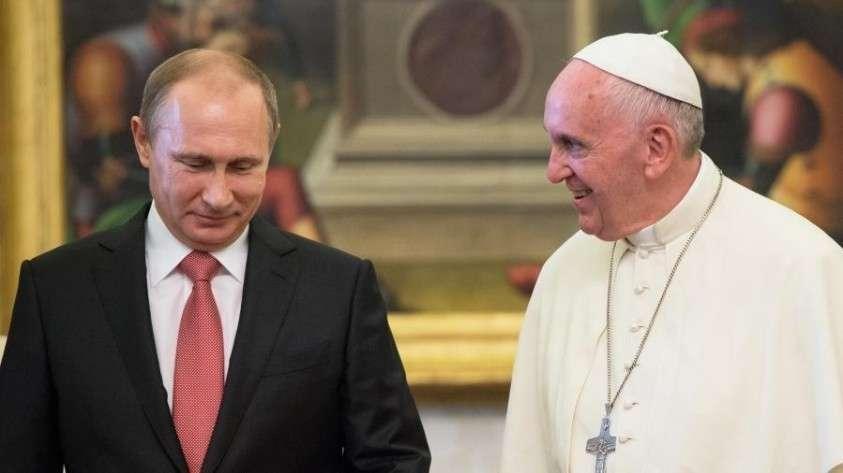 Владимир Путин и Папа римский Франциск встретятся 4 июля