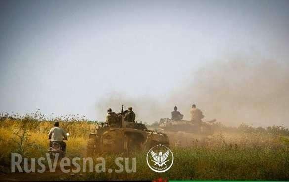 Сирия. Мощным наступлением боевики прорвали фронт правительственной армии | Русская весна