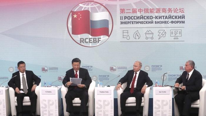 Владимир Путин и Си Цзиньпин встретились сучастниками Российско-китайского энергетического форума