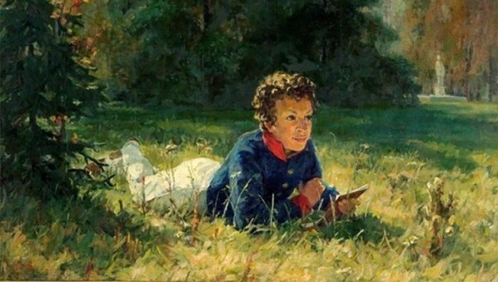 По каким учебникам учил историю Александр Сергеевич Пушкин?