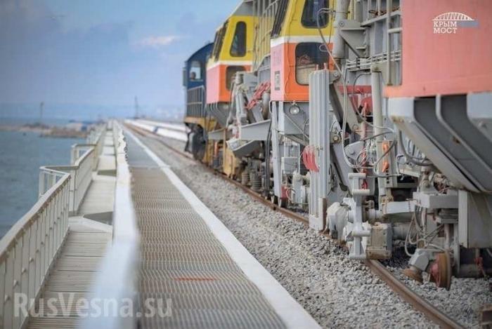 НаПМЭФ-2019показали за 3 минуты прошлое, настоящее ибудущее Крымского моста