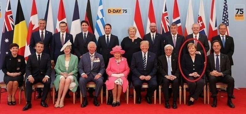 Фото дня. Шизофрения – на Западе запутались, кто с кем воевал, и кто кого победил во Второй Мировой