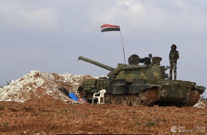 Армия Сирии при поддержке ВКС России отразила масштабную атаку террористов