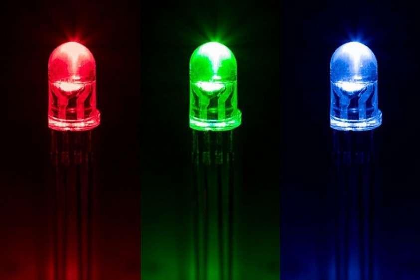 Три кристалла в одном корпусе – синий, зелёный и красный