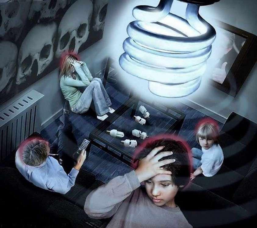 Некоторые считают, что высокочастотный модуль драйвера, который является самым мощным источником электромагнитного излучения в LED-лампе вреден и опасен