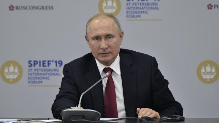 Владимир Путин на ПМЭФ-2019 встретился с руководителями иностранных компаний