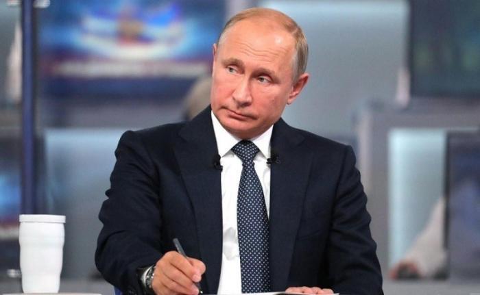 Прямая линия с Владимиром Путиным пройдет 20 июня 2019 года