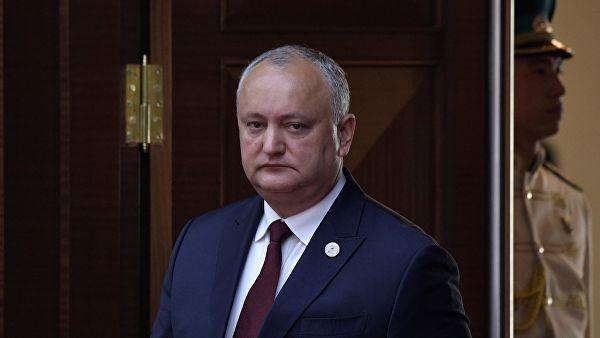 Додон заявил, что ситуация в Молдавии на грани дестабилизации