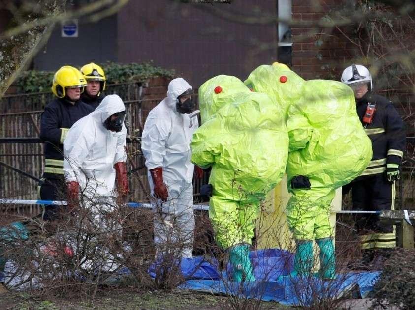 Секретная биологическая лаборатория «Портон-Даун» в Солсбери спалилась