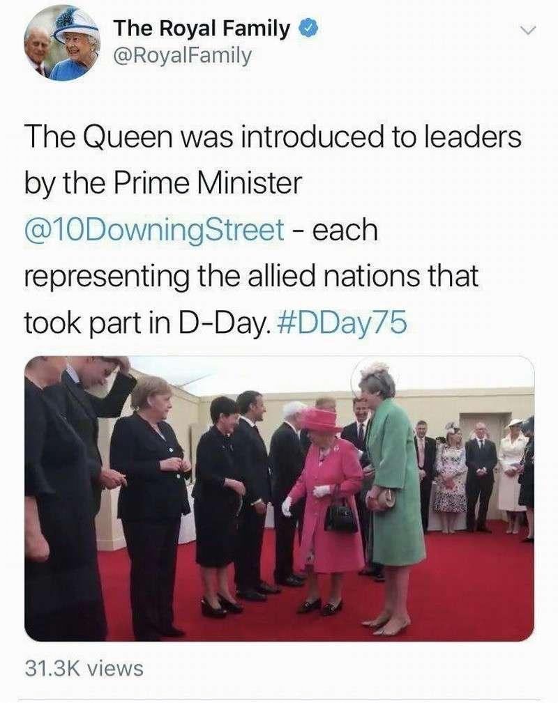 Британские монархи причислили Германию к странам антигитлеровской коалиции