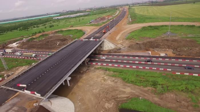 Строительство СПАД М-11 Москва – Санкт-Петербург июнь 2019