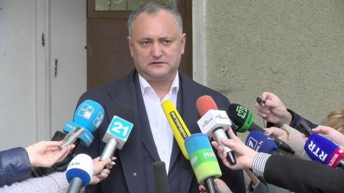 Додон: давление на республику Молдова будет возрастать