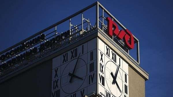 Здание НКПС, находящееся в ведомстве ОАО Российские железные дороги, на площади Красные Ворота в Москве