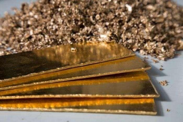 Производство золота в России в январе – апреле выросло на 10,2%