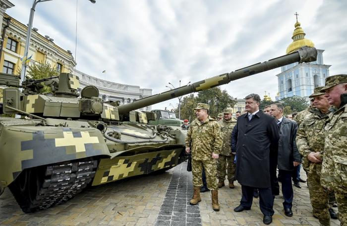 Новейший украинский танк «Оплот» как не могли, таки и не могут собрать