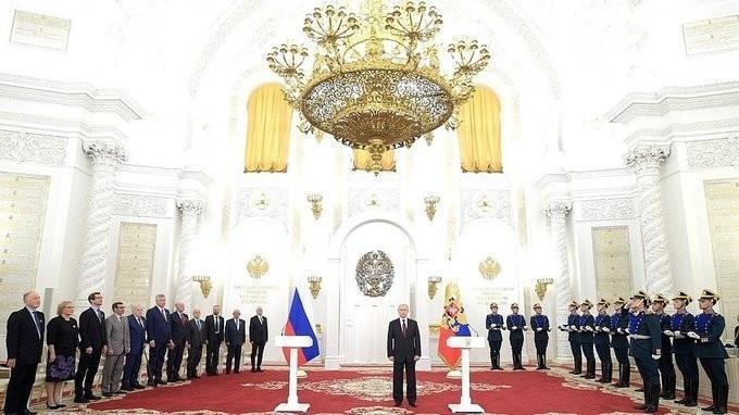 В День России Владимир Путин по традиции вручил Государственные премии