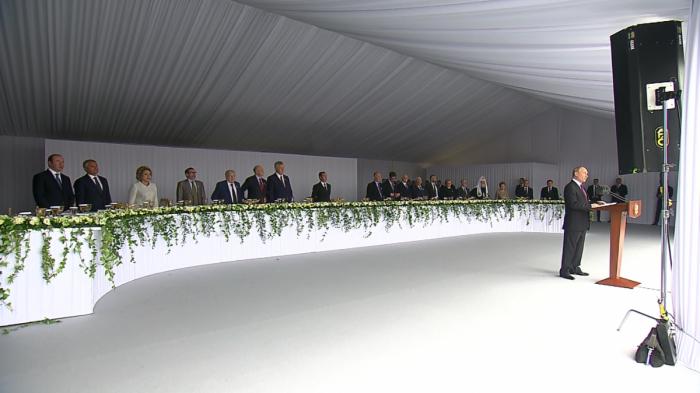 В Кремле состоялся торжественный приём по случаю празднования Дня России