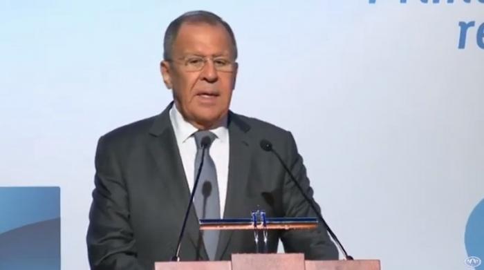 Сергей Лавров выступил на форуме «Примаковские чтения» и ответил на вопросы журналистов