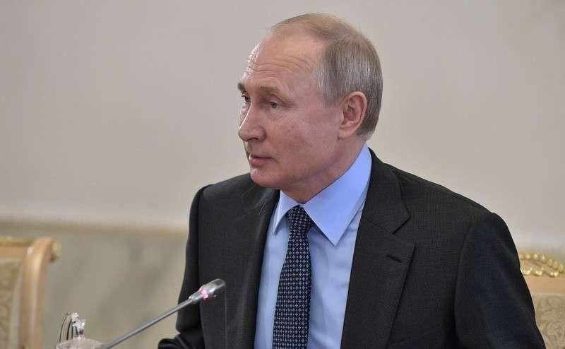 Владимир Путин провёл оперативное совещание с постоянными членами Совета Безопасности 12.06.2019