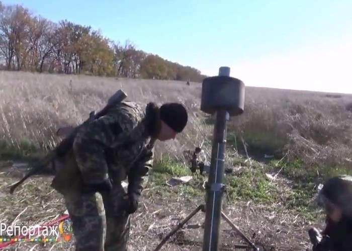 В ДНР разработали новый 82 мм миномет с глушителем