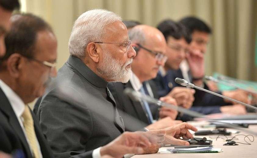 Встреча с Премьер-министром Индии Нарендрой Моди.