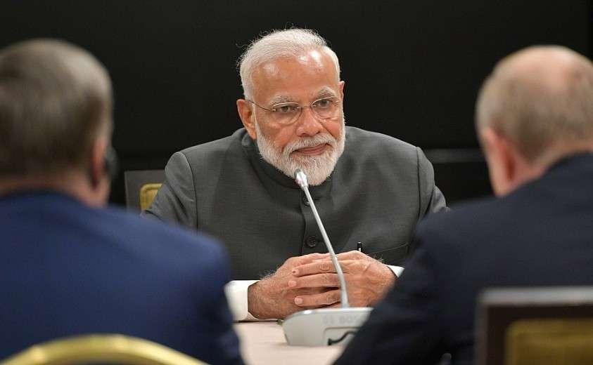 Премьер-министр Индии Нарендра Моди.