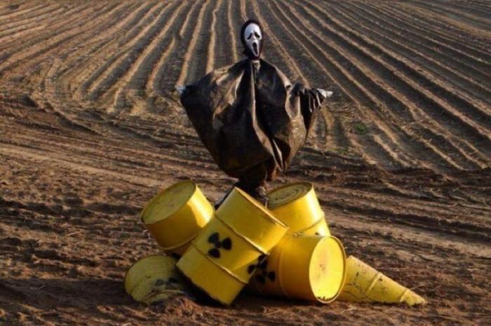 Украина превращается в могильник ядерных отходов из США