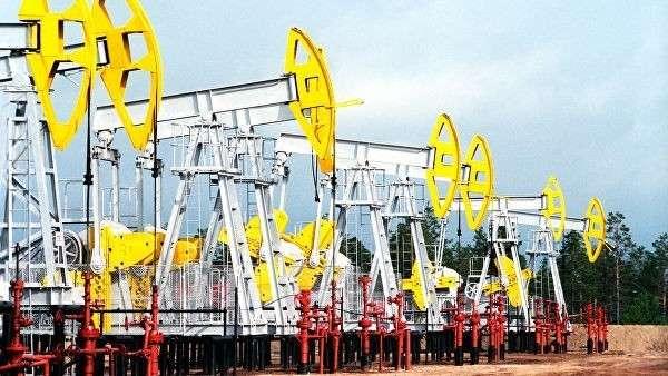 Нефтекачалки в городе Когалым