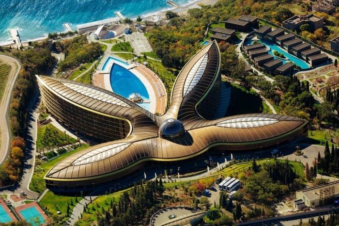 Крымский отель признали лучшим вЕвропе