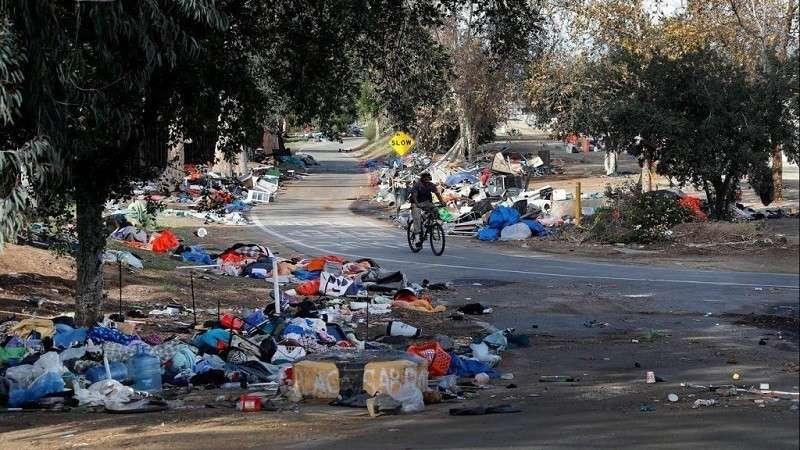Калифорния. Здравствуй, третий мир, здравствуй дикий рост количества бездомных