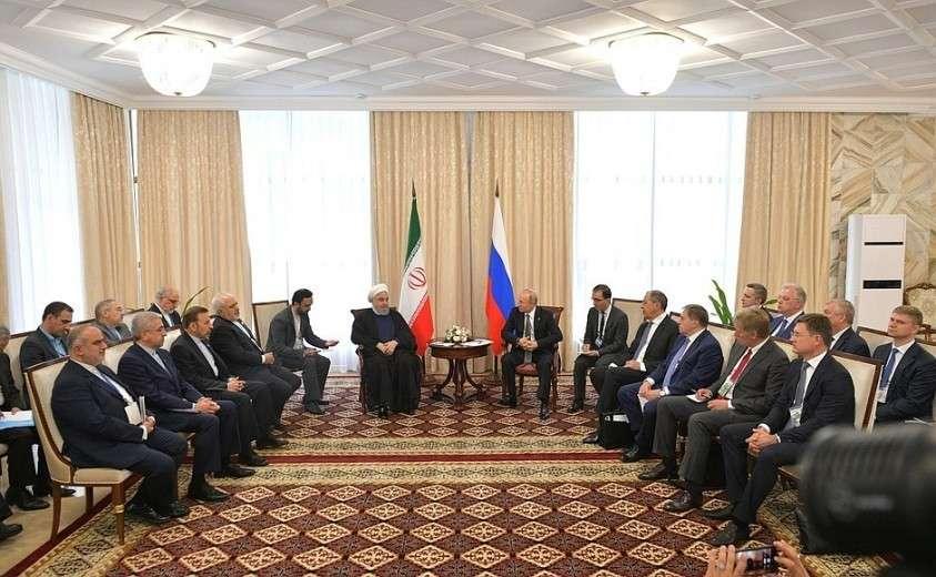 Встреча с Президентом Исламской Республики Иран Хасаном Рухани.