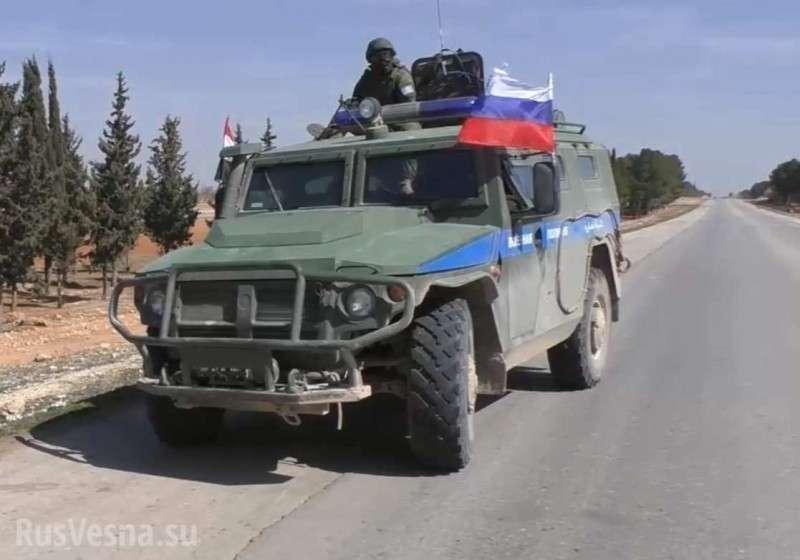 Сирия: российских военных встречают как освободителей