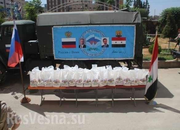 Сирия: российских военных встречают как освободителей | Русская весна