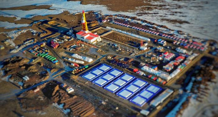 НаТаймыре началось бурение одного изкрупнейших нефтяных месторождений России