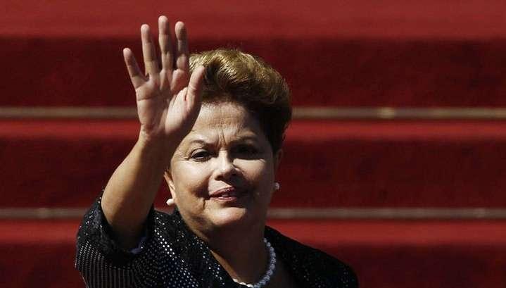 Дилма Роуссефф переизбрана на пост президента Бразилии