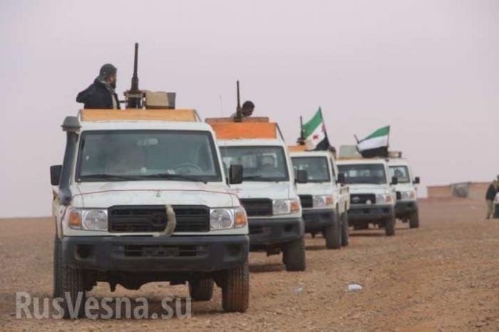 Боевики США готовят бойню на юге Сирии