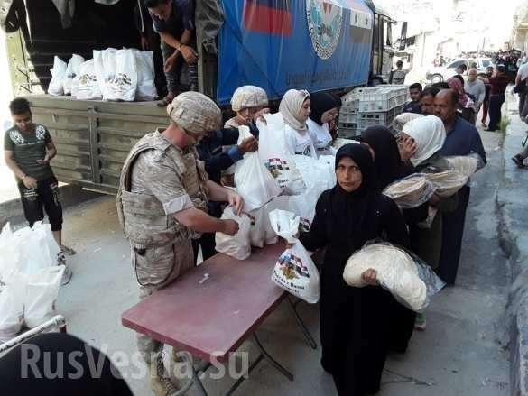 «Вы пришли в самый трудный момент, военные России доблестно сражаются», – сирийцы (ФОТО) | Русская весна