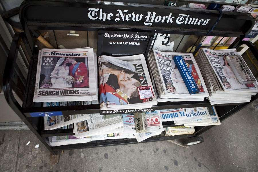 the newspaper industry