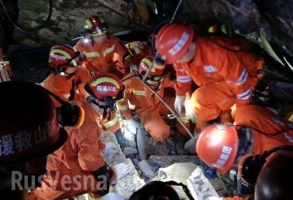 Сильное землетрясение в Китае: значительные разрушения, есть погибшие (ФОТО, ВИДЕО) | Русская весна