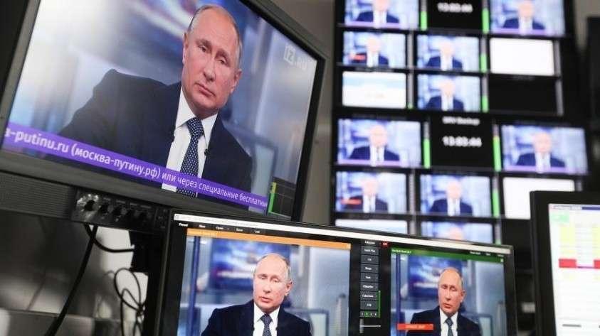 «Прямая линия с Владимиром Путиным 2019» будет безлимитной – пообещал Песков