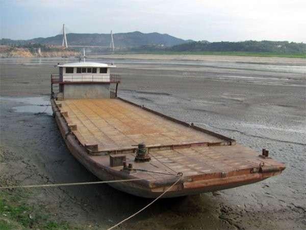 Более половины рек Китая исчезли за 15 лет