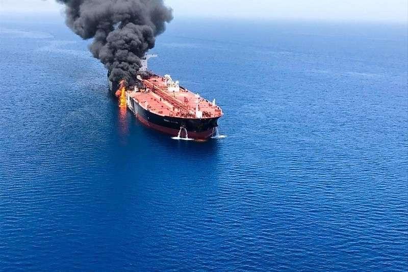 Танкеры в Оманском заливе были атакованы БПЛА MQ-9 Reaper?