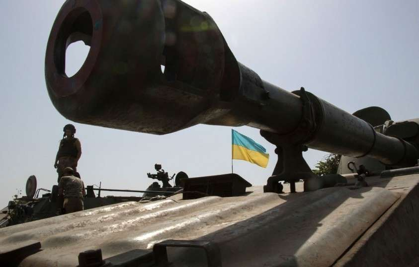 Украинская армия нанесла массированный артиллерийский удар по Донецку