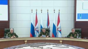 Сергей Шойгу провёл заседание Коллегии Министерства обороны России 19.06.2019