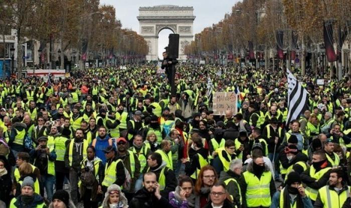 Британцы огласили шокирующую статистику протестов «желтых жилетов» во Франции