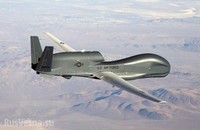 В Иране сбит стратегический беспилотник США Global Hawk