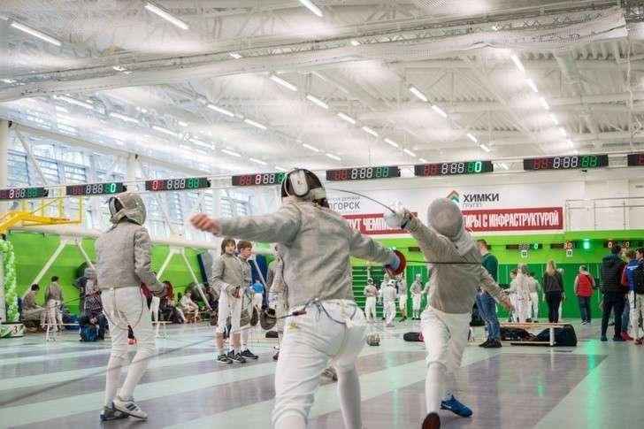 В Химках Московской области открыт центр фехтования и школа волейбола