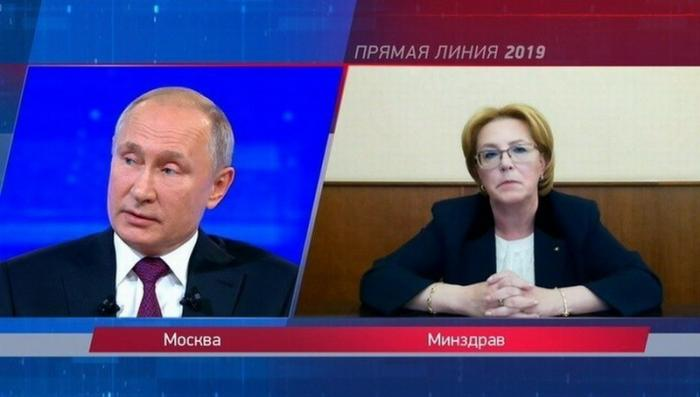 Владимир Путин назвал три главные проблемы здравоохранения в России